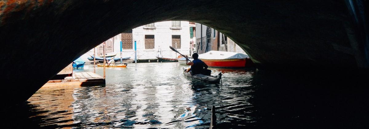 Girovagando   Paddeln in den Lagunen von Grado und Venedig